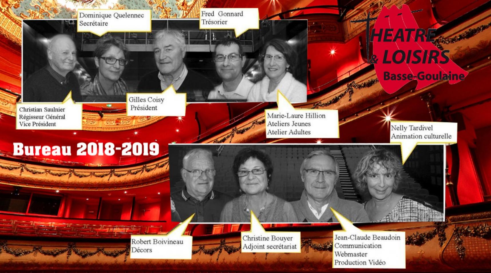 1eb19227a0f62 Composition du Bureau 2018-2019 – Theatre de Basse Goulaine